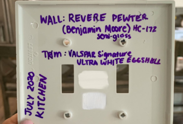 Light Switch Paint Record Home Hack